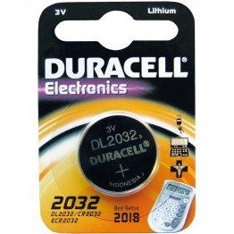 Pila Duracell botón CR2032
