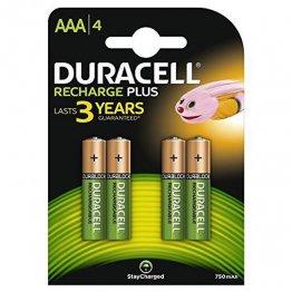 Pila Duracell recargable Supreme HR3 1000 AAA