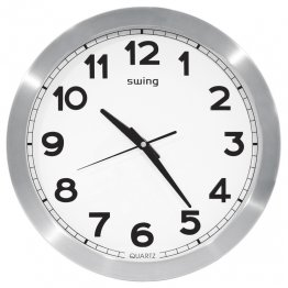 "Reloj pared Swing 12"""