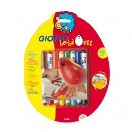 Giotto Be-Bé Egg + 8 rotuladores