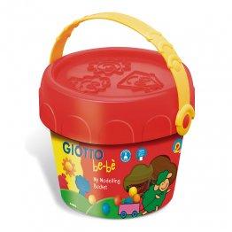 Giotto Be-Bé Cofre super pasta 5 colores + accesorios