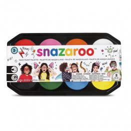 Maquillaje Snazaroo Paleta 8 colores