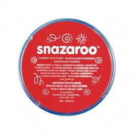 Maquillaje Snazaroo pastilla 75 ml rojo