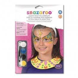Maquillaje Snazaroo Egipcia + collar de reina