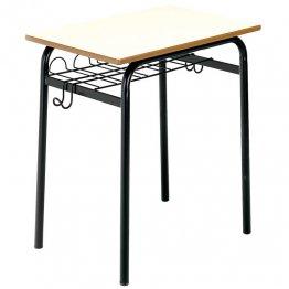 Mesa con bandeja portadocumentos 60x50cm Altura 70 cm