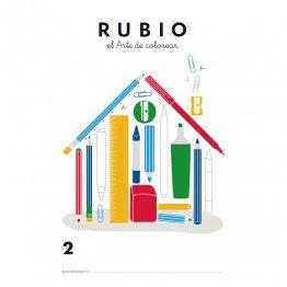 Cuaderno Rubio Colorear 2 / 5 unidades