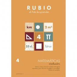 Cuaderno Rubio Matematica Evolution 4 10 unidades