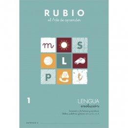 Cuaderno Rubio Lengua Evolution 1 10 unidades