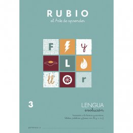 Cuaderno Rubio Lengua Evolution 3 10 unidades