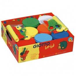 Pasta Jugar Giotto Bebe Pack Escolar 8 botes