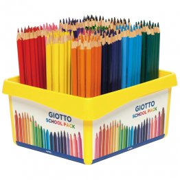 Lapices de colores Giotto Elios Tri Pack Escolar 192 unid