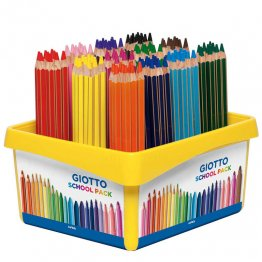 Lapices de colores Giotto Mega Pack Escolar 108 unid