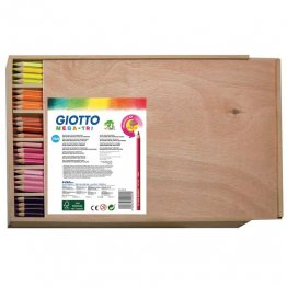 Lapices de colores Giotto Mega Tri Pack Escolar 144 unid 12 col