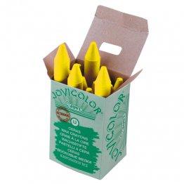 Ceras Jovicolor 12 unidades amarillo