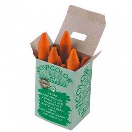 Ceras Jovicolor 12 unidades naranja