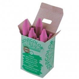 Ceras Jovicolor 12 unidades rosa