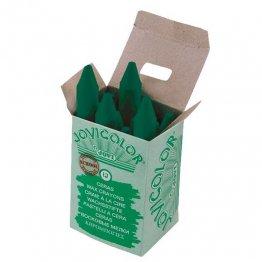 Ceras Jovicolor 12 unidades verde oscuro
