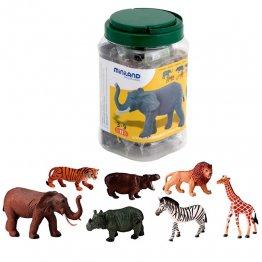 Figuras Miniland Animales Selva /7 unidades