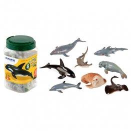 Figuras Miniland Animales Marinos /8 unidades