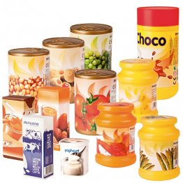 Figuras Miniland Alimentos / bolsa 12 unidades