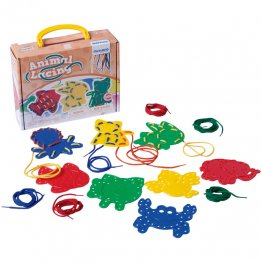 Juego Educativo Miniland Animal Lacing