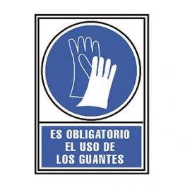 Pictograma Archivo 2000 Obligatorio uso de guantes