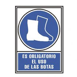 Pictograma Archivo 2000 Obligatorio uso de botas