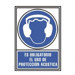 Pictograma Archivo 2000 Obligatorio protección acústica