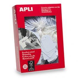 Etiquetas colgantes Apli 45x65mm (400u./envase)