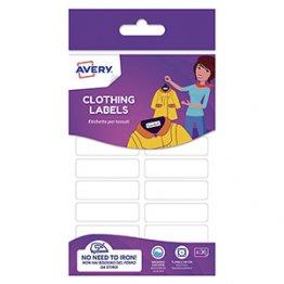 Etiquetas Avery para marcar ropa sin plancha