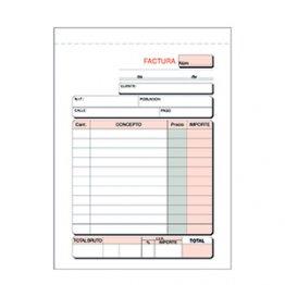 Talonario Facturas T46 109x153 Natural papel normal (100h)