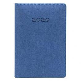 Agenda 2020 150 x 210 mm Día Página azul oscuro