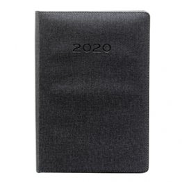 Agenda 2020 170 x 240 mm Día Página negro