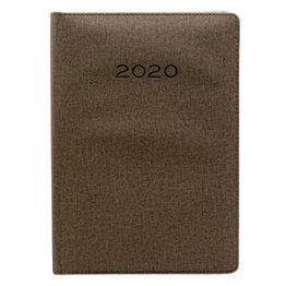 Agenda 2020 170 x 240 mm Día Página marrón