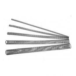 Espirales metálicas. Diámetro: 44 mm. 400 hojas. 30 ud./caja