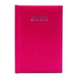 Agenda 2020 150 x 210 mm Día Página burdeos