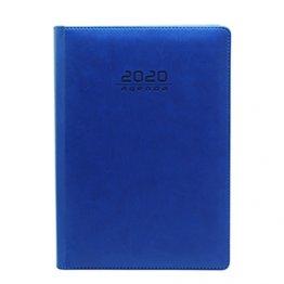 Agenda 2020 170 x 240 mm Día Página azul oscuro