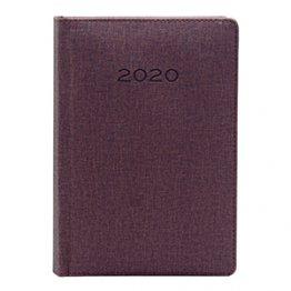 Agenda 2020 150 x 210 mm Día Página marrón