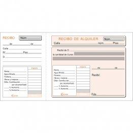 Talonario Inquilinato 207x109 T40 (100h) con matriz