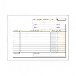 Talonario Entregas 207x145 T47 Apaisado Triplicado autocopia (50 juegos)