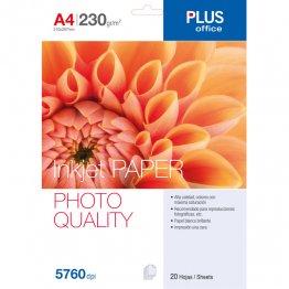 Papel fotográfico Photo Paper A4 5760 dpi 230gr 20h