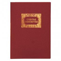 Libros de contabilidad y registro Cuentas corrientes Fº Natural (100h.)