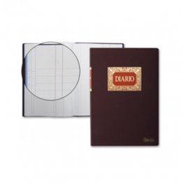 Libros de contabilidad y registro Diario doble Fº Natural (100h.)