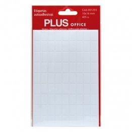 Etiquetas autoadhesivas Plus Office 10x16 Sobre 5h (405 etiq)