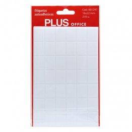 Etiquetas autoadhesivas Plus Office 16x22 Sobre 5h (210 etiq)
