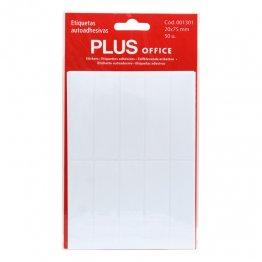 Etiquetas autoadhesivas Plus Office 20x75 Sobre 5h (50 etiq)