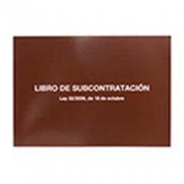 Libro de subcontratación Catalán/Valenciano/Castellano