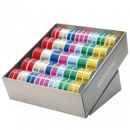 Cinta de regalo Exp 59 unid tamaños y colores surtidos