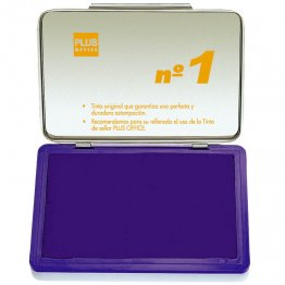 Almohadillas para sellar Plus Office Nº 1 Violeta 140x100mm
