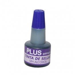 Tinta para Almohadillas Plus Office Violeta